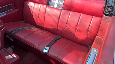 1969 Cadillac DeVille drivers seat