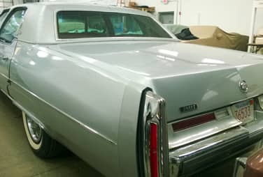1975 Cadillac fleetwood brougham grill